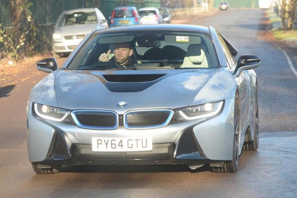 El BMW i8 de Wayne Rooney