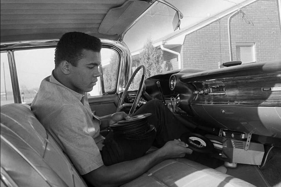 El Mercedes de oro de Muhammad Ali