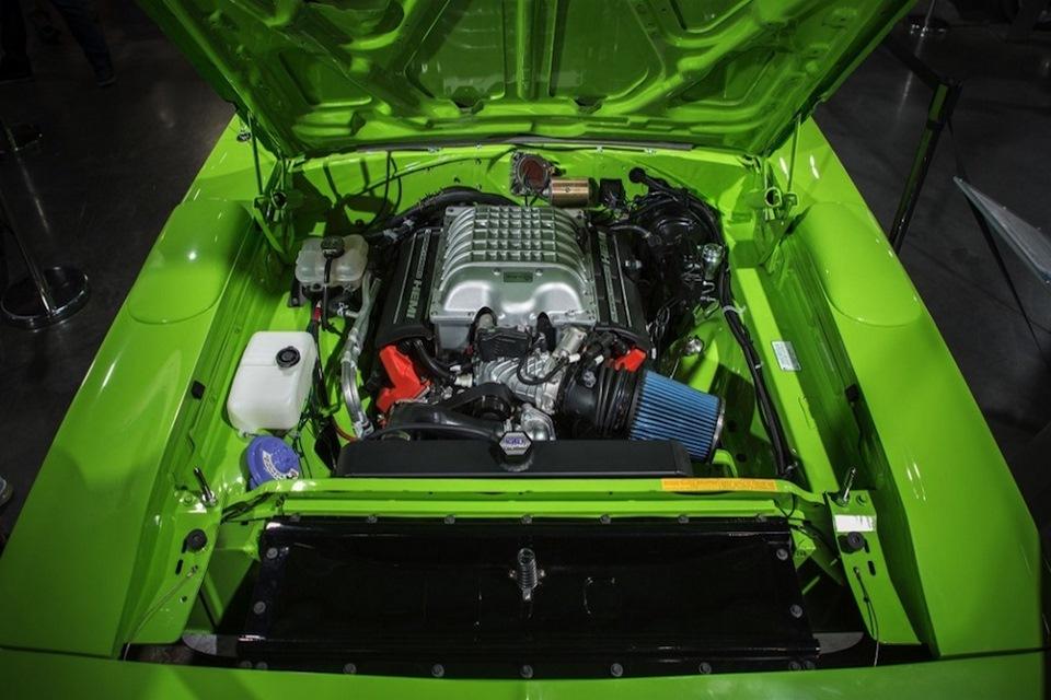 El motor Hellcrate de 707 HP de Dodge ya puede ser tuyo