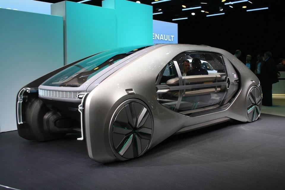 Este peculiar Renault significa la movilidad compartida del futuro para la marca