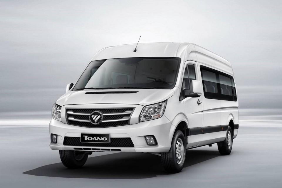 Foton Toano, una van con gran espacio interior para el mercado ecuatoriano