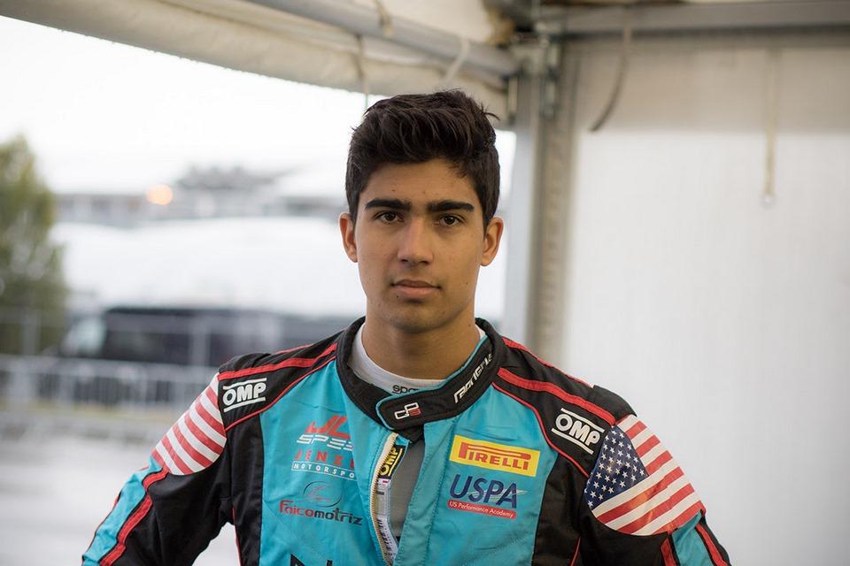 Juan Manuel Correa vuelve a la pista en el Castrol Toyota Racing Series