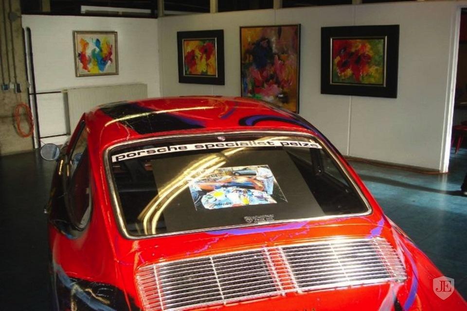 Mira este Porsche 911 de 1966 lleno de arte en su trabajo de pintura