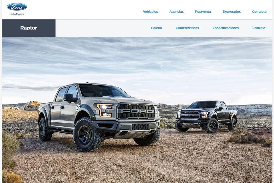 Quito Motors presenta su nuevo sitio web