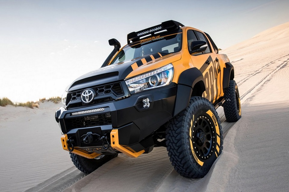 Toyota Hilux Tonka El Juguete Favorito De Todo Adulto