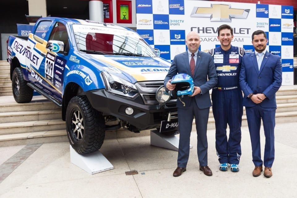Dakar 2019: Sebastián Guayasamín y el equipo Chevrolet están listos