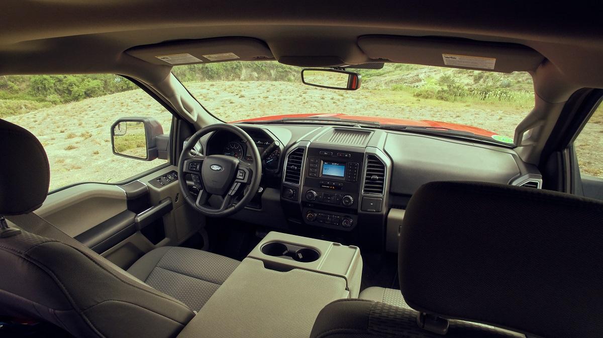 Ford-f-150-interior
